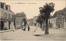 CPA AK Orthez Place Brossers FRANCE (1131290) - Orthez