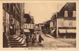 CPA AK Orthez Rue Saint-Pierre FRANCE (1131291) - Orthez