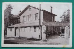 """YERRES  ;  Le Café Restaurant Au """"Bout Du Monde""""    Carte Rare De 1948 - Yerres"""