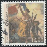France 1999 Yv. N°3236 - PhilexFrance'99 - E. Delacroix - Oblitéré - Gebraucht
