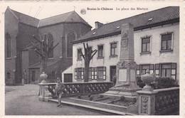 LA PLACE DES MARTYES - Braine-le-Chateau
