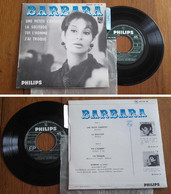 "RARE French EP 45t RPM BIEM (7"") BARBARA (pochette Papier Gauffré, Mint !! Lang, 1965) - Collector's Editions"