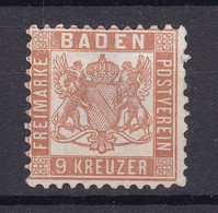 Baden - 1866 - Michel Nr. 20 A - Ungebr. - Baden