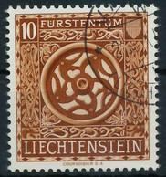 LIECHTENSTEIN 1953 Nr 319 Gestempelt X28DFC2 - Gebruikt