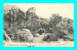 A892 / 413 77 - Foret De FONTAINEBLEAU Rempart Du Rocher Cuvier Chatillon - Fontainebleau