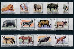 Burundi 1983 MiNr. 1596 - 1608  WWF Animals  13v MNH **  1000,00 € - Altri