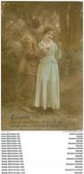 COUPLE. Jeunes Amoureux Avec Zouave 1917 - Parejas
