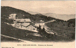 51el 823 CPA - AIX LES BAINS - PLATEAU DU REVARD - Aix Les Bains