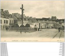 35 CANCALE. La Houle, Le Calvaire Et Les Quais - Cancale