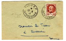 48700 - PARIS RP INTERZONES - 1921-1960: Periodo Moderno