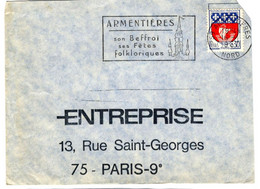 48709 - 8 Enveloppes - Annullamenti Meccanici (pubblicitari)
