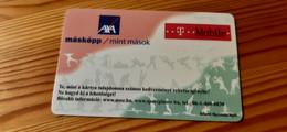 Nemzeti Sportszövetség (National Sport Commitee) Discount Card Hungary - AXA, T-Mobile - Autres
