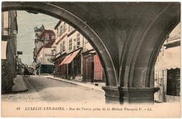 B5MST 1046 CPA - LUXEUIL LES BAINS - RUE DU CENTRE - Luxeuil Les Bains