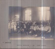 77 - LAGNY-SUR-MARNE - Guerre 1914-1918 - Hôpital Auxiliaire N° 202 - Photo V. DIETSCH Collée Sur Carton 18 X 23,5 Cm - Lagny Sur Marne