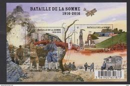 2016-N°F5075 BATAILLE DE LA SOMME** - Ungebraucht