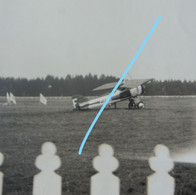 Photo SPA Meeting Aviation Champ De Courses 1930 Avion MORANE MS 129 Ou 130 Aviation Vliegtuig Aircraft Vliegtuig - Aviation