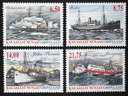 Greenland 2004   Ships   Minr.423-26     MNH  ( ** ) ( Lot  F 1193  ) - Unused Stamps