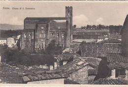 SIENA-CHIESA DI SAN DOMENICO-CARTOLINA NON VIAGGIATA-1910-1920 - Siena