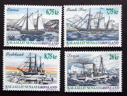 Greenland 2003  Ship Journey    Minr.407-10   MNH  ( ** ) ( Lot  F 925  ) - Unused Stamps