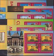 UNO GENF 2000 Mi-Nr. HBL 23/28 Markenheftchenblätter/booklet Sheets O Used - Aus Abo - Gebraucht