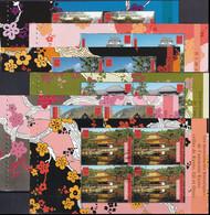 UNO GENF 2001 Mi-Nr. HBL 29/34 Markenheftchenblätter/booklet Sheets O Used - Aus Abo - Gebraucht