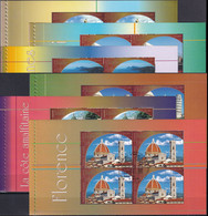 UNO GENF 2002 Mi-Nr. HBL 35/40 Markenheftchenblätter/booklet Sheets O Used - Aus Abo - Gebraucht