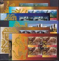 UNO GENF 2007 Mi-Nr. HBL 65/70 Markenheftchenblätter/booklet Sheets O Used - Aus Abo - Gebraucht