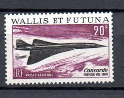W-4  Wallis-Et-Futuna N° 32 **  A Saisir !!!  Concorde - Nuevos