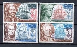 W-4  Wallis-Et-Futuna N° 44 à 47 **  A Saisir !!! - Nuevos