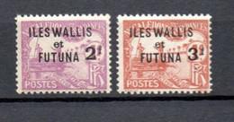 W-4  Wallis-Et-Futuna N° 9 à 10 *  A Saisir !!! - Postage Due