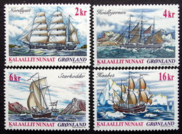 Greenland 2002   Ship Journey    Minr.381-84  MNH  ( ** ) ( Lot  F 915  ) - Unused Stamps