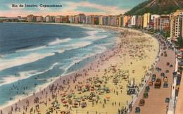 Brésil - Rio De Janeiro, Copacabana, De Praia (la Plage) Foto Hess - Carte N° 78482 - Copacabana