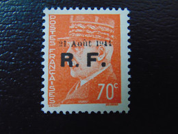 Très Beau N°. 5P** (numérotation Mayer) De La Libération De Roanne - Timbre Signé - Liberation