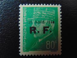 Très Beau N°. 6P** (numérotation Mayer) De La Libération De Roanne - Timbre Signé - Liberation