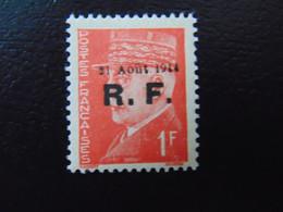 Très Beau N°. 7P** (numérotation Mayer) De La Libération De Roanne - Timbre Signé - Liberation
