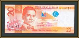 Philippines 20 Pesos 2020 P-206 UNC - Philippines