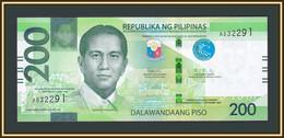 Philippines 200 Pesos 2020 P-226 (226a) UNC - Philippines
