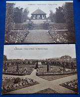 BELLECOURT  - Lot De 6 Cartes : Château Du Pachy ( Roseraie, Bassin Natation, Octogane,Terrasses,Pavillon ...) - Manage