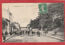 Lot Et Garonne - Tonneins - Avenue Maréchal-Foch - Tonneins