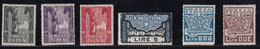 Regno D'Italia Marcia Su Roma 1923 Serie Completa Sass. 141/146 MH* Cv 100 - Neufs