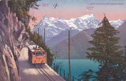 1802/ Brunnen - Morschach-Bahn, Trein - SZ Schwyz