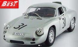 Porsche Abarth - Greger/Linge - Nurburgring 1960 #31 - Best Model - Best Model