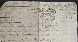 Quittance Cotte D'Office Quittance Des Tailles 1748 - Timbri Generalità