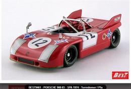 Porsche 908-03 - Torredemer/Pla - Spa 1974 #12 - Best Model - Best Model