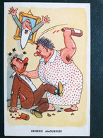 Illustrateur, Humour , Alcool , Griserie Amoureuse    . Non Circulée - Humour