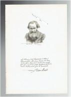 PIERRE DENIS 1828 LYON 1907 PARIS POLITIQUE SOCIALISTE SOCIALISME COMMUNE PORTRAIT AUTOGRAPHE BIOGRAPHIE ALBUM MARIANI - Historische Documenten