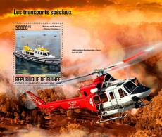 GUINEA 2019 - Special Transport, Firefighting - YT BF2489, CV=19 € - Bombero