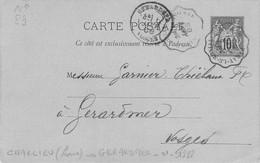 ENTIER DE 1888 - 1877-1920: Semi-moderne Periode
