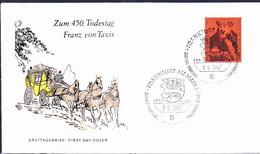 BRD FGR RFA - Franz Von Taxis (MiNr: 535) 1967 - FDC   (Ersttagsstempel:  FFM) - FDC: Buste
