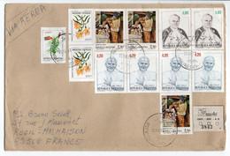 - Lettre Recommandée BUENOS AIRES (Argentine) Pour RUEIL-MALMAISON (France) 22.5.1987 - Timbres PAPE JEAN-PAUL II - - Lettres & Documents